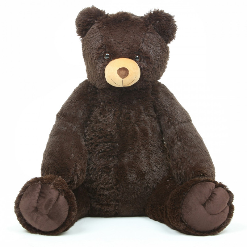 "Baby Tubs 32"" Big Chocolate Brown Plush Teddy Bear - Giant ..."