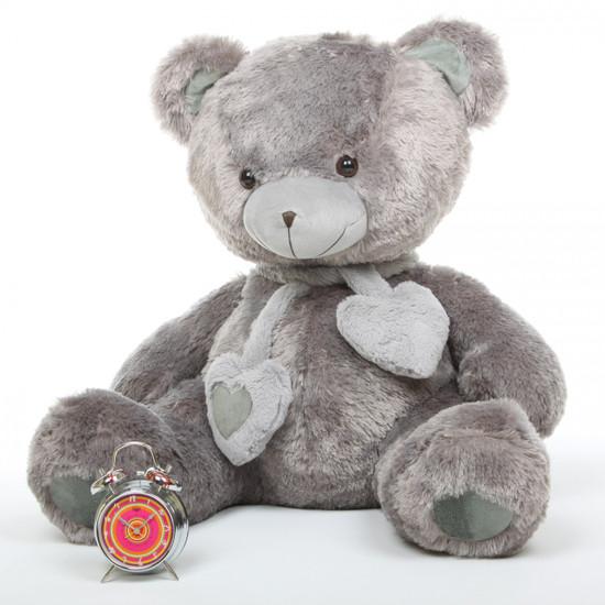 Angel Hugs 36 Quot Silver Gray Stuffed Teddy Bear Giant