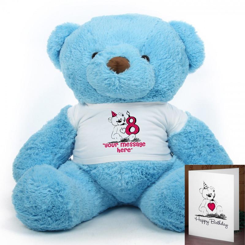 Make a Birthday Wish Chubs teddy bear 38in