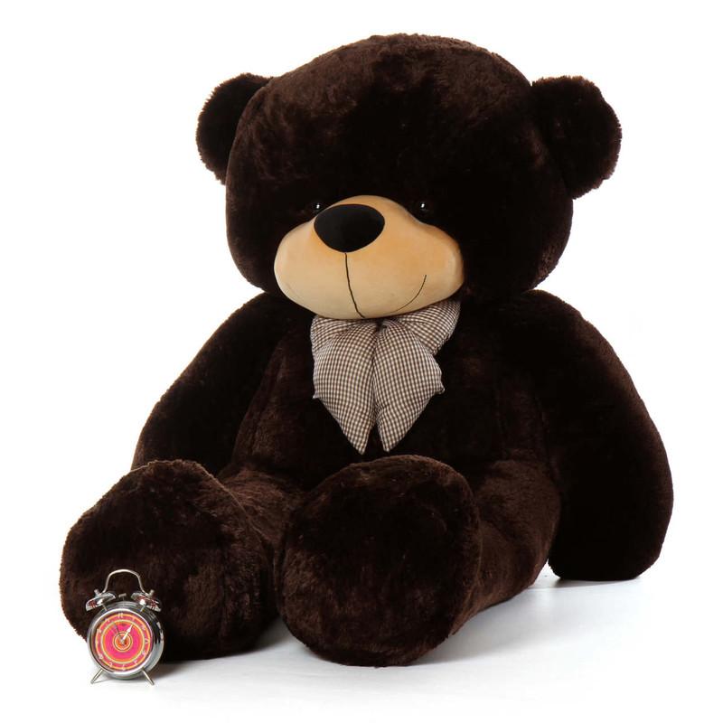 72ft Life Size Teddy Bear Brownie Cuddles Chocolate Brown Fur