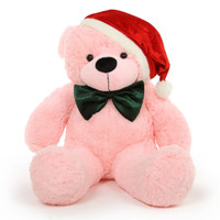 The most precious Christmas gift is a big bear hug from a Giant Teddy bear like Lady Christmas Cuddles!