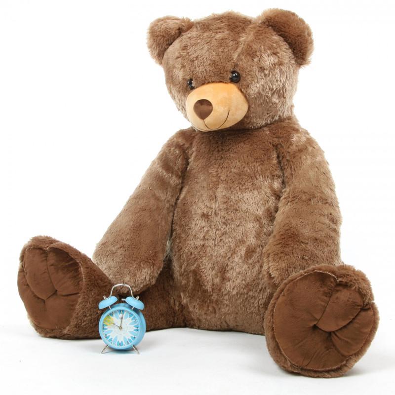 Sweetie Tubs mocha brown teddy bear 52in