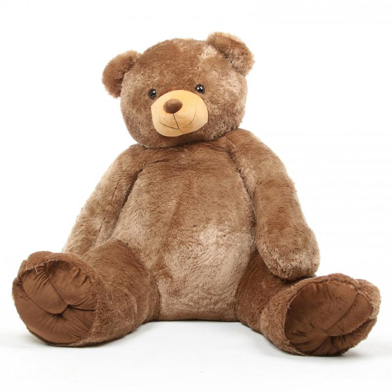 Sweetie Tubs mocha brown teddy bear 65in