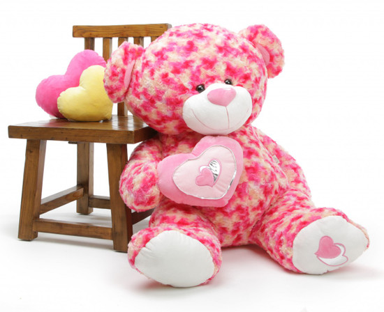3½ ft Sassy Big Love Teddy Bear