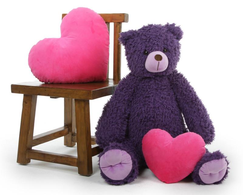 No Fuss Fur Teddy Bear