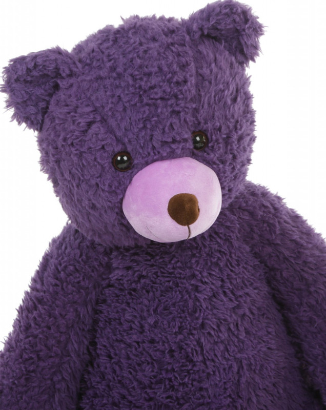 The Biggest Dark Purple Teddy Bear
