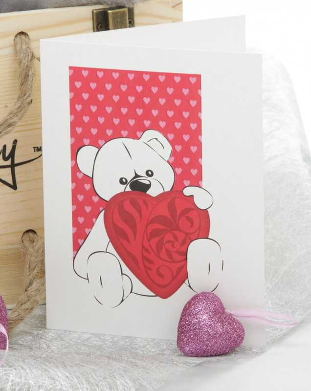 Valentines Day gift Package by Giant Teddy