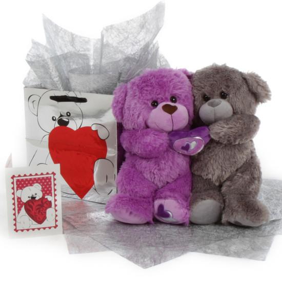Big Love Bear Hug Care Package 18in