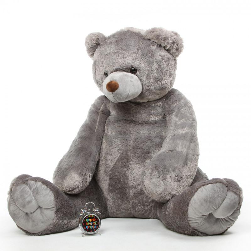 Sugar Tubs gray life size teddy bear 65in