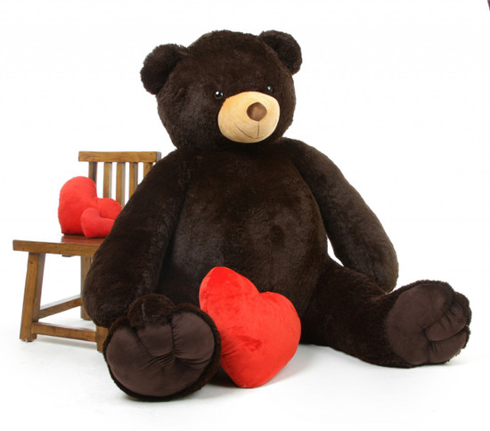 Mighty hugs arrive when you send your loved one a brown life size teddy bear like Baby Tubs!