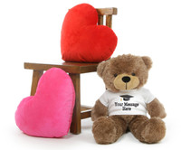 Cuddles Personalized Graduation Teddy Bear 26in