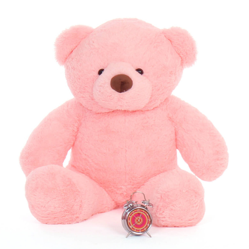 Big Pink Teddy Bear Gigi Chubs huggable gift 48in