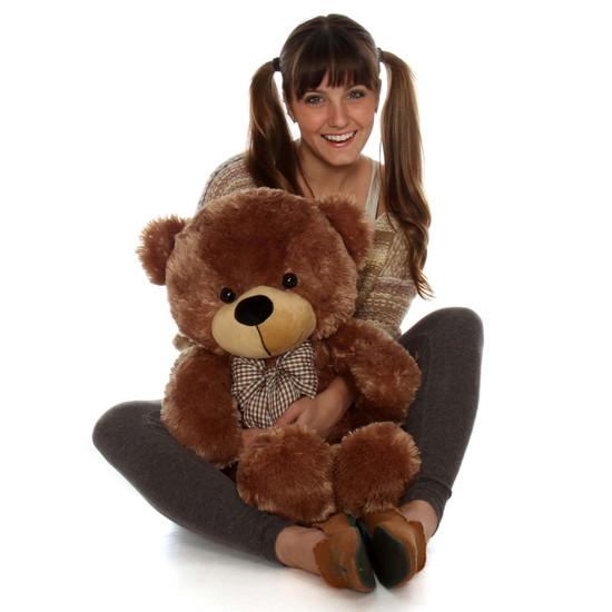 Sunny Cuddles 30 Quot Big Mocha Brown Teddy Bear Giant Teddy