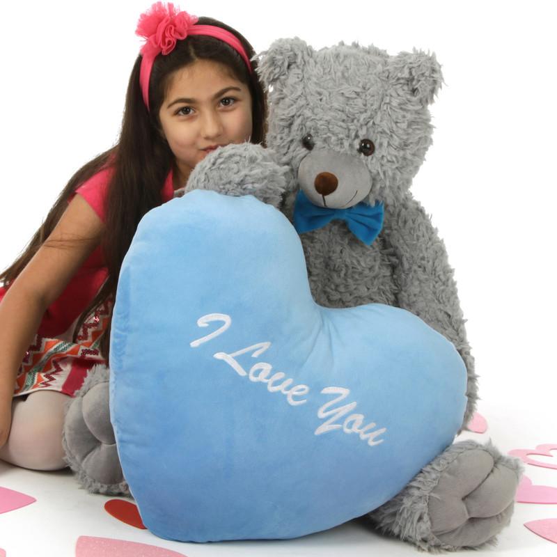 Sugar Woolly Tubs 32in Valentine's Day Teddy Bear