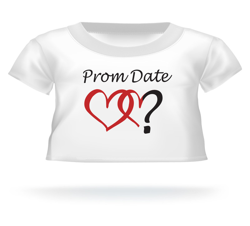 Giant Teddy Bear Prom Date? T-Shirt