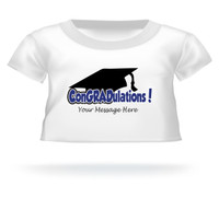 Personalized ConGRADulations Giant Teddy bear shirt