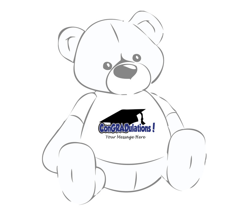 ConGRADulations! Grad 2015 Teddy Bear T-shirt