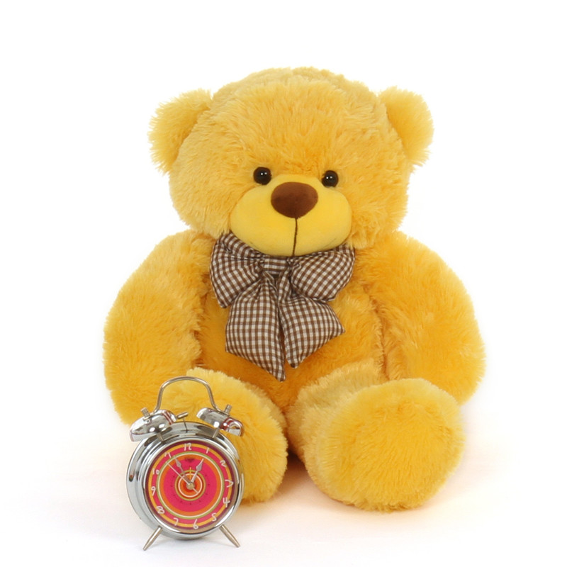 2ft Big Adorable Huggable Yellow Teddy Bear Daisy Cuddles