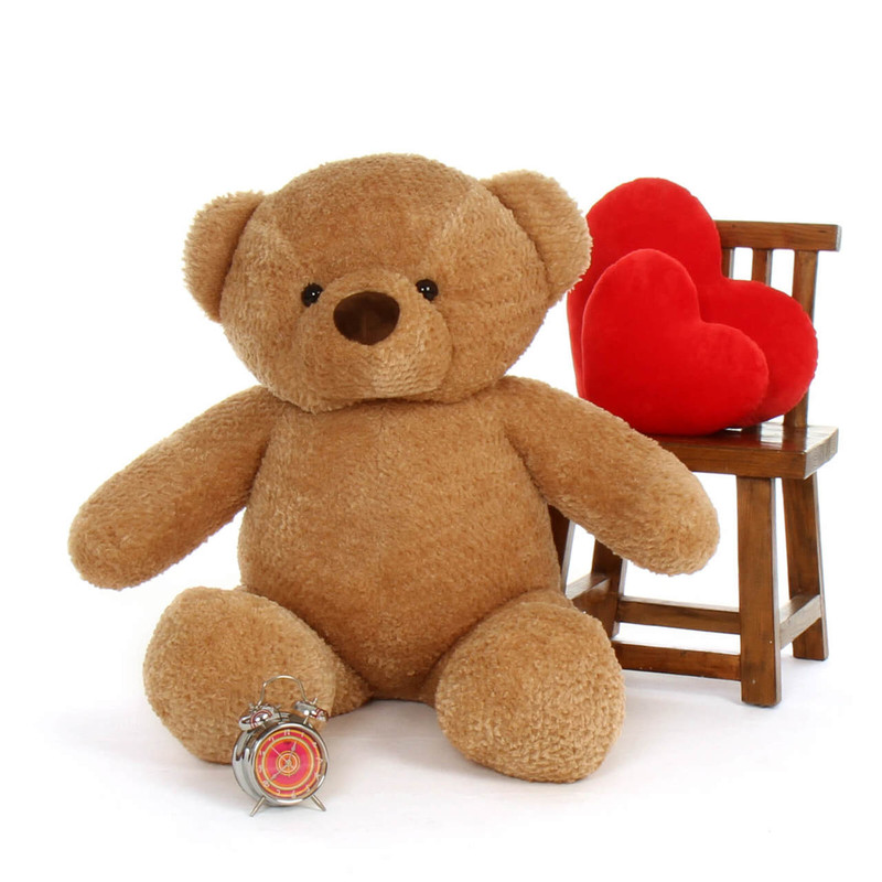 Cutie Chubs Adorable Life Size Jumbo Amber Teddy Bear 48in (2)