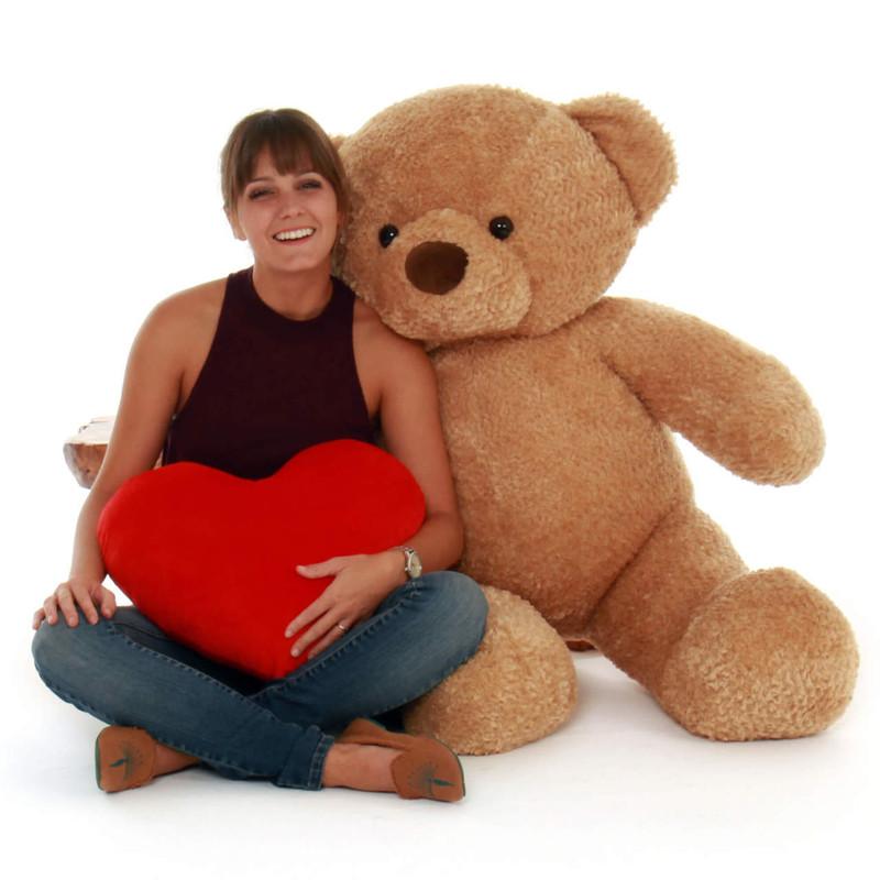 Cutie Chubs 48 Quot Jumbo Amber Plush Teddy Bear Giant Teddy