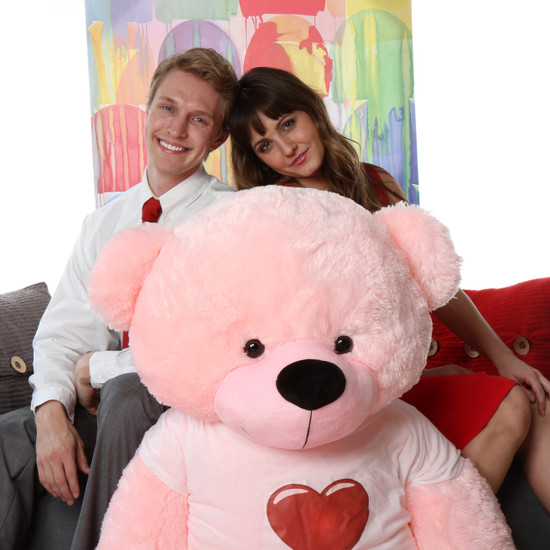 60 in life size huge personalized famous pink Teddy bear