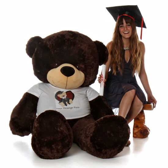6ft Giant Graduation Teddy bear