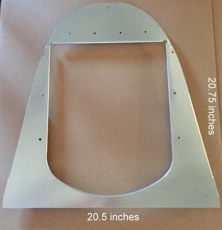 igloo-plate-1.jpg & Igloo Dog Door | Dogloo XT Doghouse | Chew-Proof Dog Door