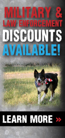 Military Discounts on our dog dens and doghouses!