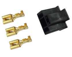 Female Headlight Plug Kit - Plastic