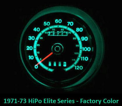 1965 73 Ford Mustang Led Gauge Light Conversion Kit Hipo Parts Garage