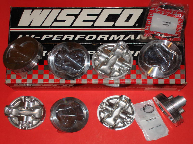 Wiseco Ford Yates C3 Forged Pistons 4 172 x 1 070 x  912 - NEW!