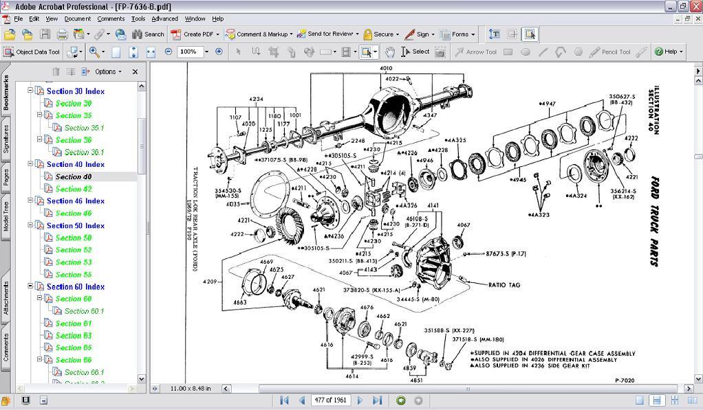 MPC64FT2__97496.1290457882.1280.1280?c=2 1964 72 ford truck master parts catalog cd hipo parts garage