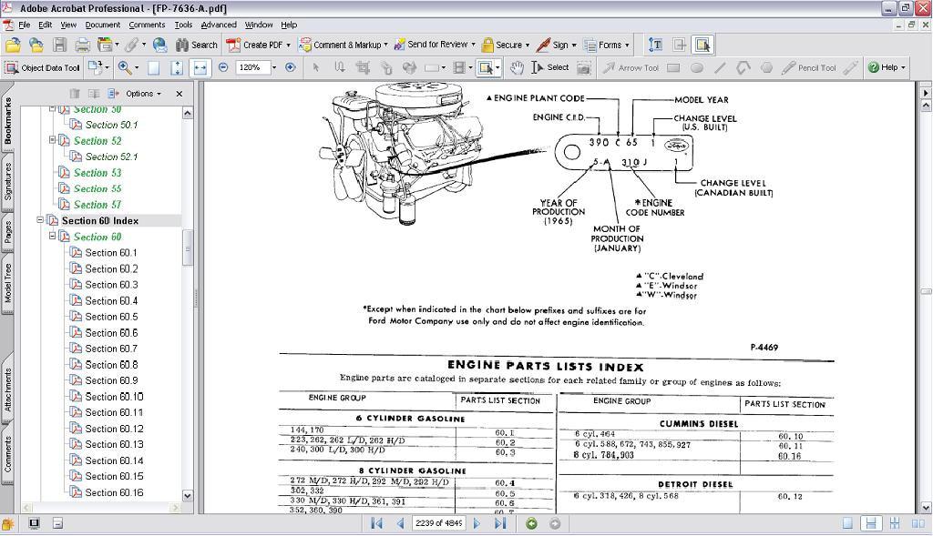 272 ford engine diagram wiring diagram