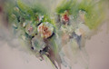 'Simply Carnations' Floral Study in Watercolour by Jean Haines