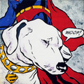 Lichtenstein's Dog by Mychael Barratt