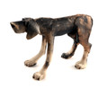 Brindle Standing Dog by Virginia Dowe Edwards