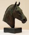 Equus I A Bronze Equine Sculpture by Deborah Burt