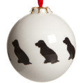 Bauble Spaniel Pattern