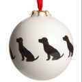 Bauble Terrier Pattern