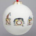 Bauble - Noel from an original artwork by Elle Wilson