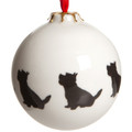 Bauble Westie Pattern