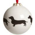 Bauble Dachshund Pattern