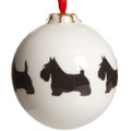 Bauble Scottie Pattern