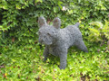 Frenchie Wire Sculpture by Paula Joule Blake