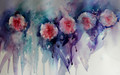 Sensational Summer -  Floral Study in Watercolour by Jean Haines
