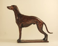 Whippet Bronze Sculpture (large)  by Deborah Burt