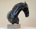 'Power' A Bronze Equine Sculpture by Deborah Burt