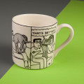 That's Better! - Creamware Mug by Rupert Fawcett