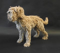 Small Rope Dog Sculpture by Dominic Gubb