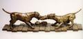 American Staffordshire Bronze Sculpture by Eskandar Magzub